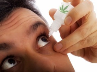 CBD eye drop