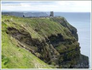 The Cliffs of Moher, looking southwest towards O'Brien's Tower