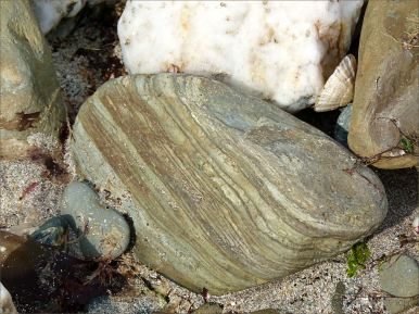 Beach stone at Ferriters Cove on the Dingle Peninsula