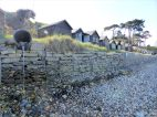 Gabion emplacement as protection from coastal erosion