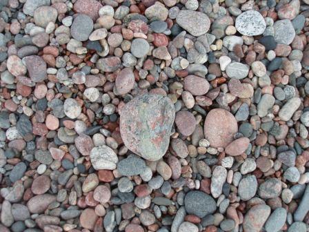 Agawa beach stones