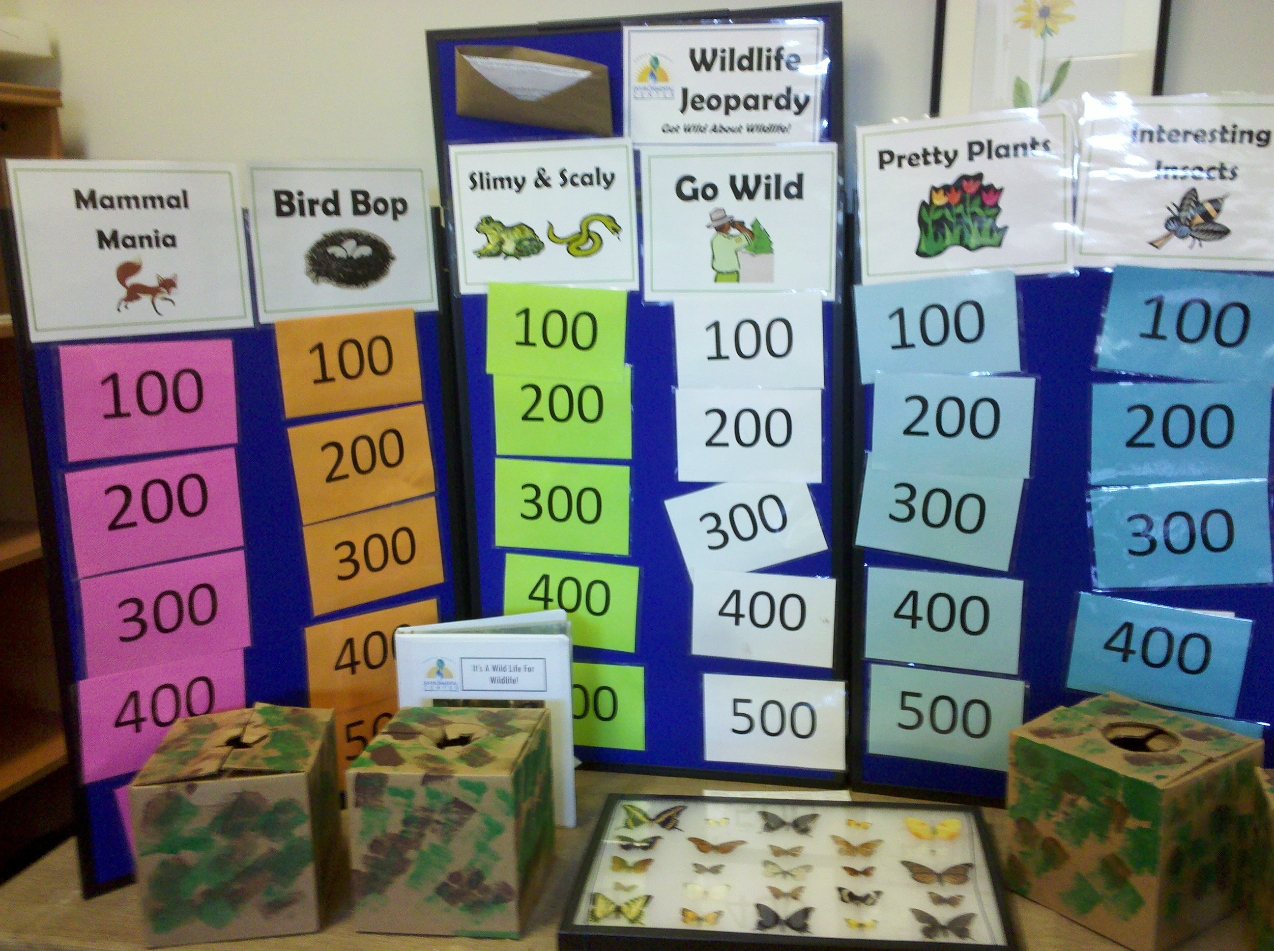 Wild About Wildlife Inquiry Games Nature Into Action