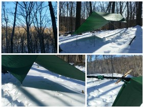 Tarp Configuration and Knot Practice