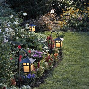 solar landscape lanterns