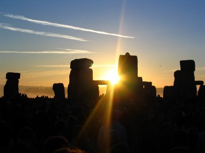 stonehenge winter soltice