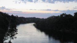 sunrise, morning, Fair Oaks Bridge, Fair Oaks, nature, beauty, American River, beauty