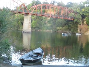 Fair Oaks Bridge, American River, morning, rituals, fisherman, fishing boats
