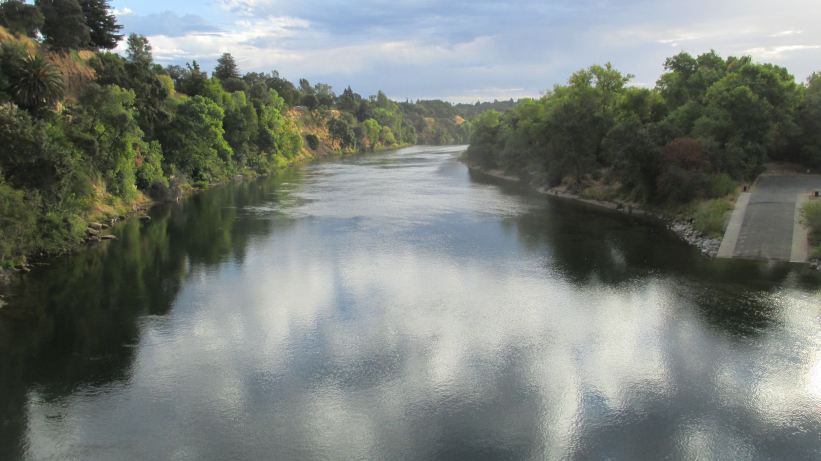 clouds, active, reflections, American River, American River Parkway, Fair Oaks Bridge, mornings, water, river, nature, outdoors, writing, photos, wildlife