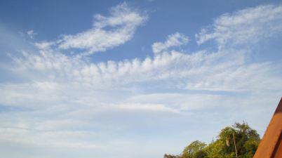 clouds, American River, mornings, sky