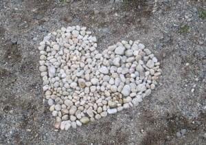 heart, American River Parkway, American River, marker, memories, memory, heart, trail, Fair Oaks Bridge, Fair Oaks Bluff