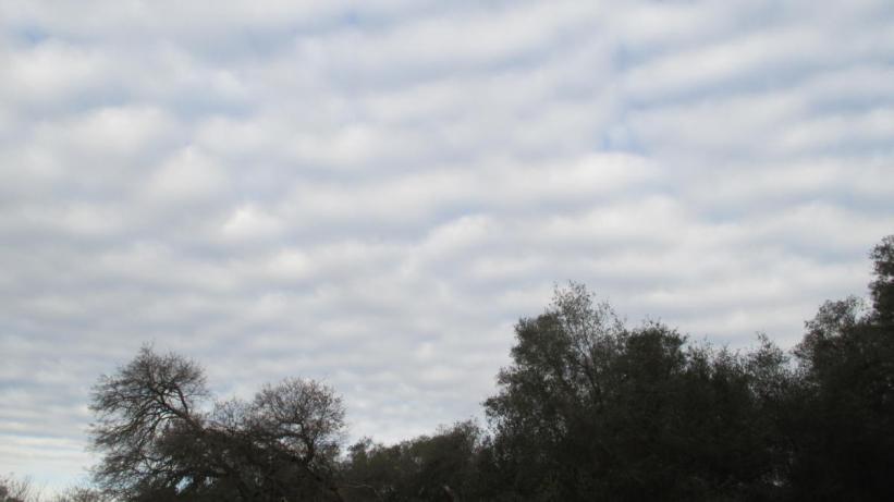 clouds, candy, blanket, sky, American River, Fair Oaks Bridge