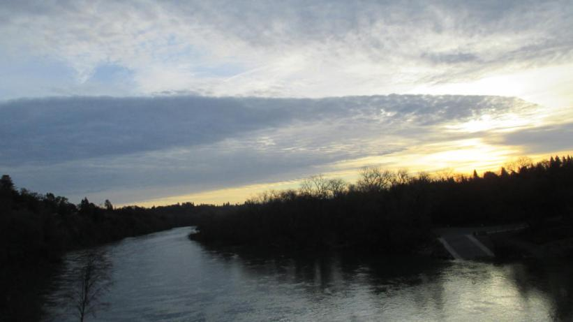 sunrise, mornings, beauty, Fair Oaks Bridge
