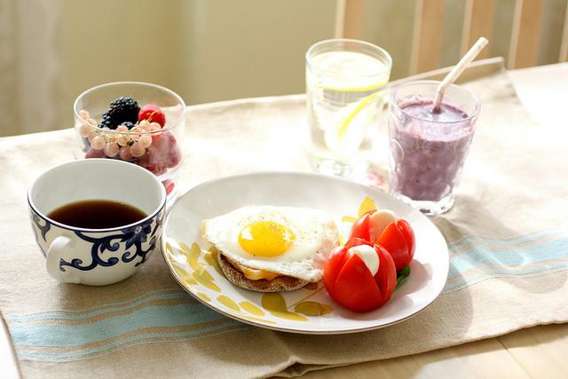 régimen diabetes petit dejeuner complet