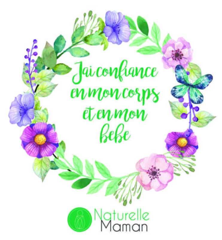 affirmation positive de naissance par naturelle maman