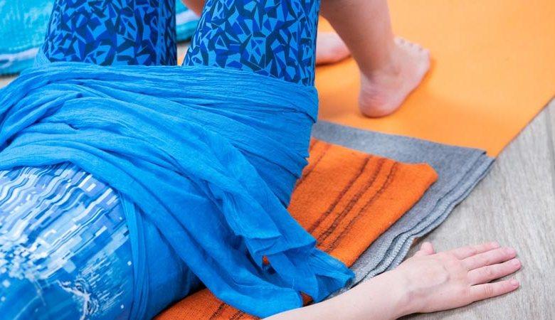 bandage du bassin après l'accouchement