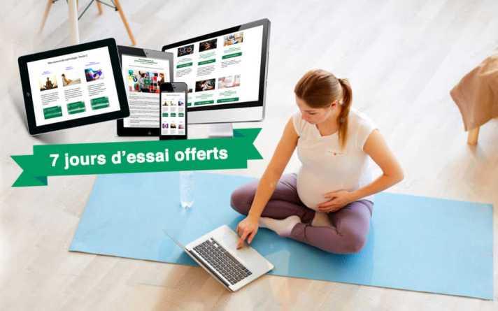 Préparation à l'accouchement en ligne