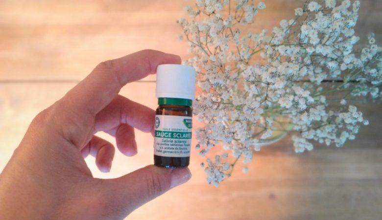 l'huile essentielle de sauge sclarée pour l'accouchement