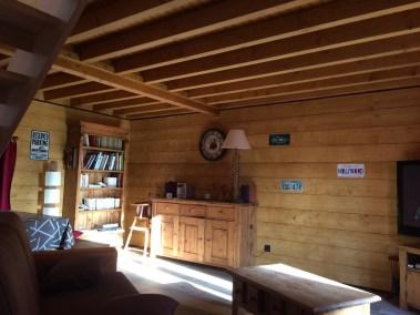 Habillage bois des murs .Plancher sur solivage Bois