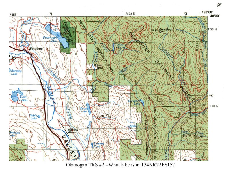 NatureMapping Learning Protocols   Mapping Practice for Okanogan County Okanogan TRS Map 2