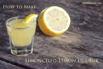 How to Make Limoncello Lemon Liqueur