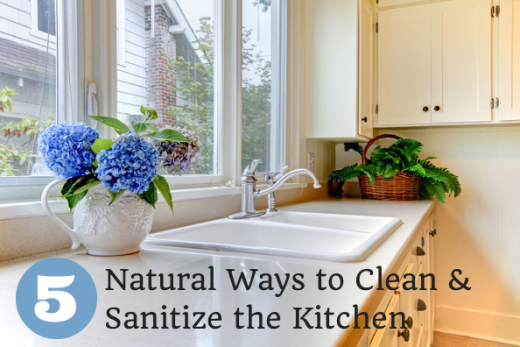 5 Natural Ways to Clean and Sanitize Kitchen Surfaces
