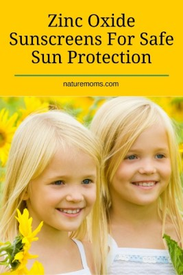 Zinc Oxide Sunscreens For Safe Sun Protection