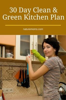 30 Day Clean Green Kitchen Plan