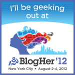 I'm Going to BlogHer12!