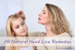 All Natural Head Lice Remedies