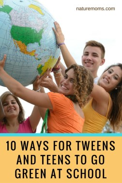 teens go green at school