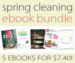 Spring Cleaning eBook Bundle