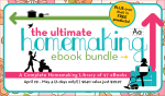 The Ultimate Homemaking eBook Bundle