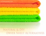 Natural & DIY Dryer Sheet Alternatives