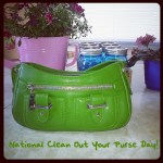 It's National Clean Out Your Purse Day!