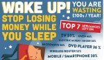 Stop losing money while you sleep!