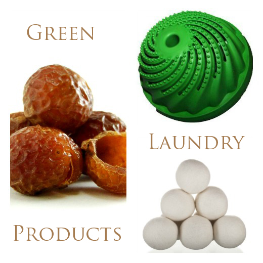 green laundry products