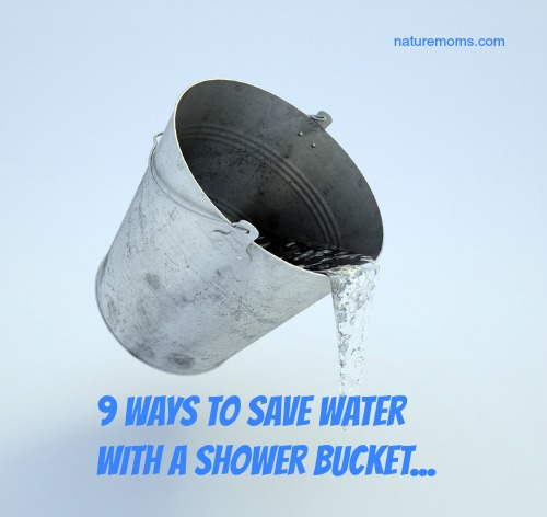 The shower bucket 9 ways to save water - Bath vs shower water usage ...