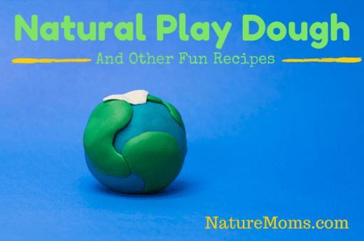 Natural Play Dough Recipes -Naturemoms.com