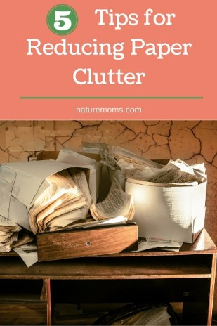 5 Tips for Reducing Paper Clutter