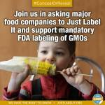 Celebrity Moms Support GMO Labeling. Do you?