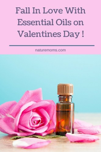 Fall In Love With Essential Oils on Valentines Day Pin