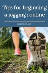 Nature as your gym: Tips for beginning a jogging routine