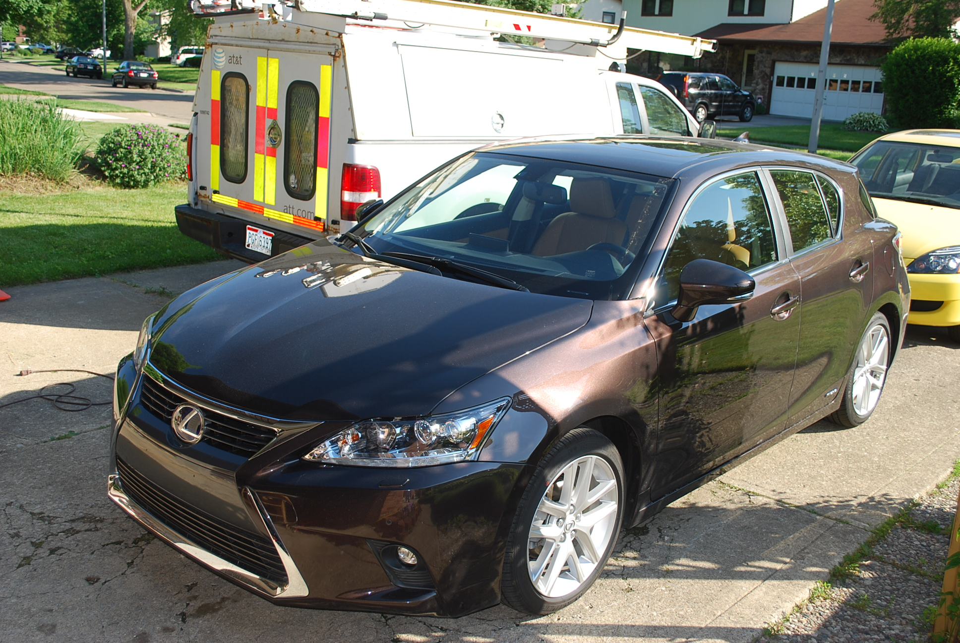 Driving the Lexus CT 200h Hybrid Nature Moms