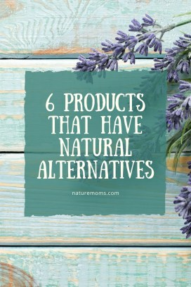 Products that Have Natural Alternatives