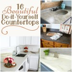 16 Beautiful Do It Yourself Countertops