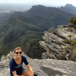 Me on an early Nature Monday at Bluff Knoll.