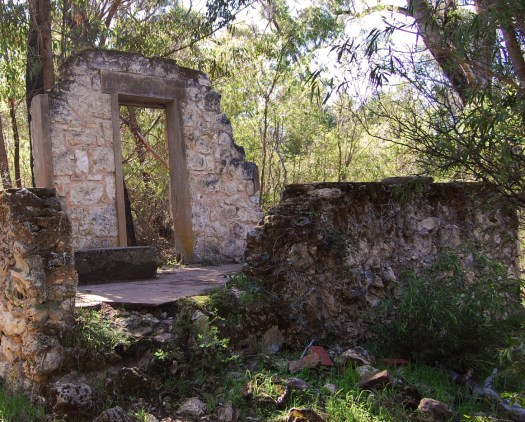 Ghost House walk ruins