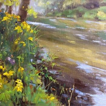 Pere Marquette, Afternoon by Susan M. Rose