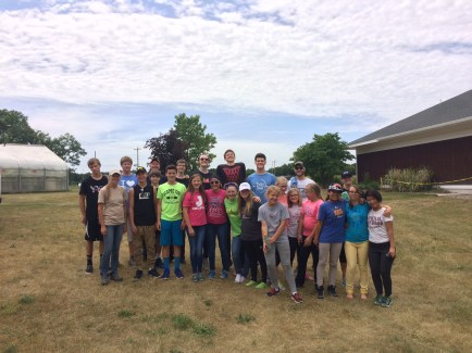 Volunteers at Wittenbach Wege Center