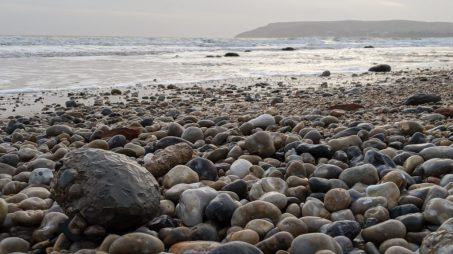 Clay ball at Sandown Bay